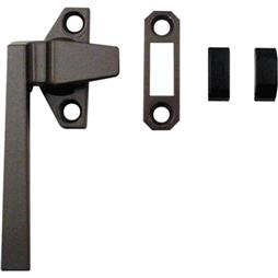 Picture of TH 23057 - Trimline Locking Handle, Left Hand, Bronze, Keeper, Diecast, 1 per pkg.