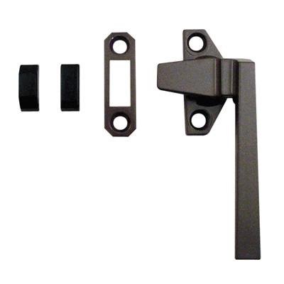 Picture of TH 23058 - Trimline Locking Handle, Right Hand, Bronze, Keeper, Diecast, 1 per pkg.