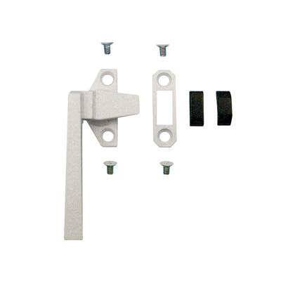 Picture of TH 23059 - Trimline Locking Handle, Left Hand, White, Keeper, Diecast, 1 per pkg.