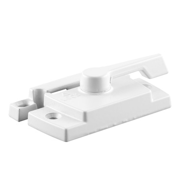 Picture of TH 23087 - Trimline Cam Lock, 2-1/16 inches Hole Centers, Diecast, with lugs, White, Pack of 1