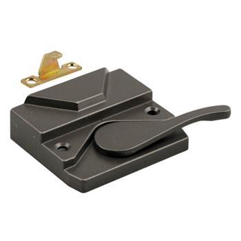 Picture of TH 23095 - Casement Window Sash Lock, Left Hand, Bronze, Keeper & Screws, 1 per pkg.