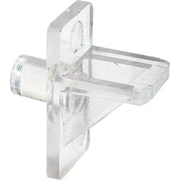 "Picture of U 10136 - Shelf Support Peg, 1/4"" Diam., Plastic, Clear"