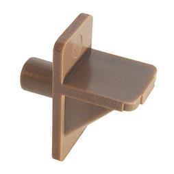 "Picture of U 10137 - Shelf Support Peg, 1/4"", Plastic, Brown"
