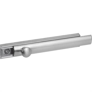 U 10306 Surface Mount Slide Bolt Satin Nickel