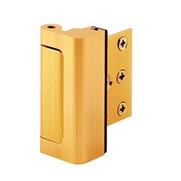 Picture of U 10826 - Brass Plated Door Blocker Entry Door Stop