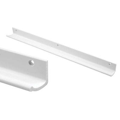 Picture of U 10900 - Hanger Strip, White Vinyl, 16 inches Long, Paintable, Pack of 2