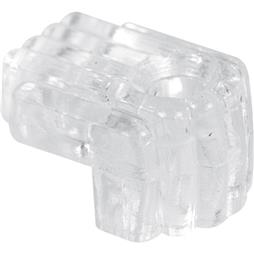 Picture of U 9003 - Mirror Clip, Clear Acrylic, Fits 1/4 inch Thick Glass Mirrors, Pack of 6