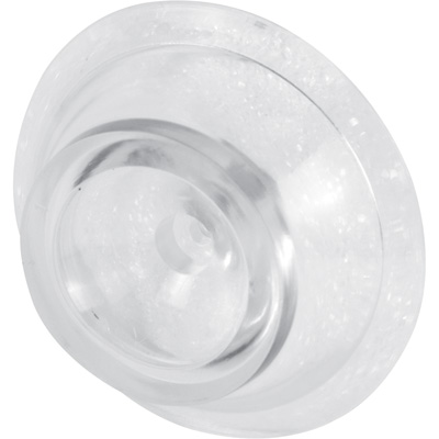 Picture of U 9004 - Door Stop Bumper, Clear Vinyl, 2-5/16 inch Round by 3/4 inch High, Pack of 2