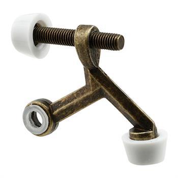 Picture Of U 9096   Hinge Pin Door Stop (30 Degree Antique Brass 1per