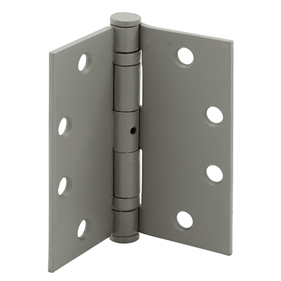 """Picture of U 9167 - BALL BEARING HINGE, 4-1/2"""" X 4-1/2"""", SQUARE, PRIMED, NRP"""