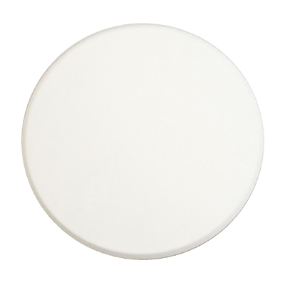 """Picture of SCU 9271 - WALL PROTECTOR, 5"""" ROUND, SMOOTH WHITE VINYL"""