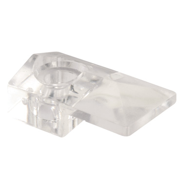 Picture of 193671 - Mirror Clip, Clear Acrylic, Fits 1/4 inch Thick Glass Mirrors, Pack of 6