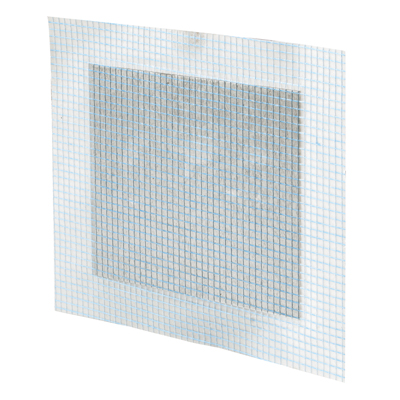 Picture of U 9282 - Drywall Repair Patch, 4 inch Square Metal Plate, Adhesive-Backed Mesh