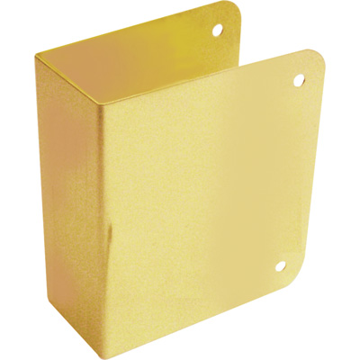 """Picture of U 9490 - Deadlock Blank Repair Cover, 1-3/4"""", Solid Brass, Brass"""