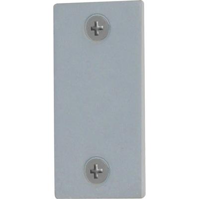 """Picture of U 9520 - Door Edge Filler Plate, 1"""" x 2-1/4"""", Steel, Gray Primered"""