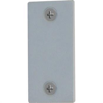 U 9520 Door Edge Filler Plate 1 Quot X 2 1 4 Quot Steel Gray