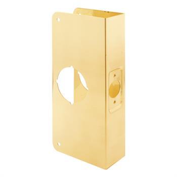 U 9540 Lock Amp Door Reinforcer 1 3 8 Quot Solid Brass Recessed