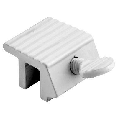 Picture of U 9802 - (2) White Sliding Window Lock with Thumbscrew