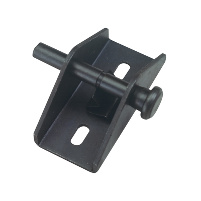 "Picture of S 4029 - ""push-pull"" Door And Window Lock (black Finish)"