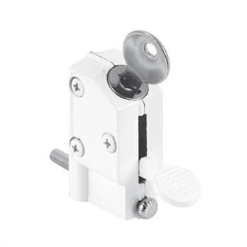 "Latest Picture of U 9884 Patio Door Keyed Lock 1 4"" O D Bolt Model - Simple keyed patio door lock New"