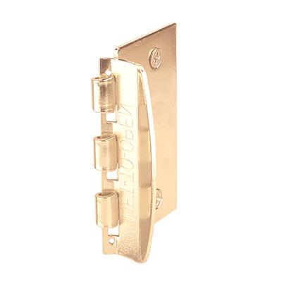 Picture of U 9887 - DOOR LOCK, FLIP ACTION, STEEL, BRASS PLATED
