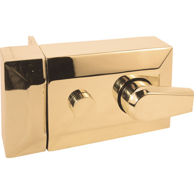 Picture of U 9968 - Brass Plated Single Cylinder Keyed